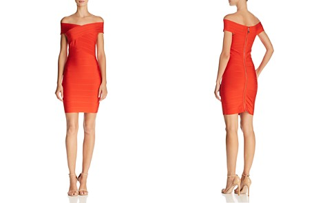 WOW Couture Off-the-Shoulder Body-Con Dress - Bloomingdale's_2