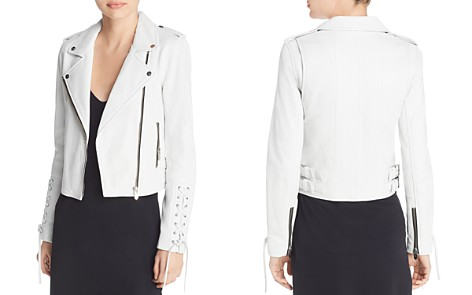 The Mighty Company Florence Leather Biker Jacket - Bloomingdale's_2