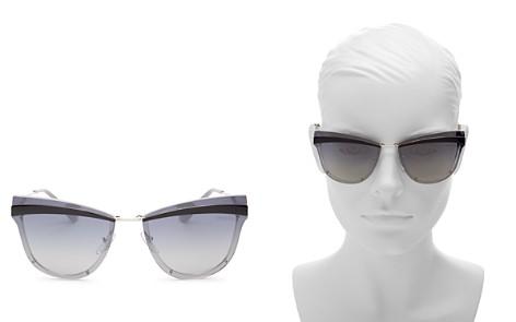 Prada Cat Eye Sunglasses, 65mm - Bloomingdale's_2