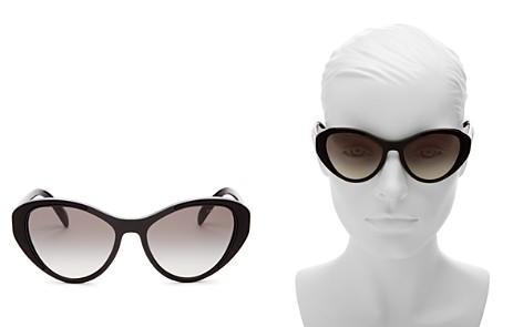 Prada Cat Eye Sunglasses, 55mm - Bloomingdale's_2