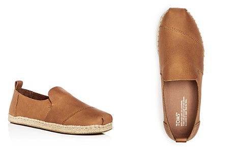 TOMS Men's Deconstructed Alaprgata Leather Espadrilles - Bloomingdale's_2