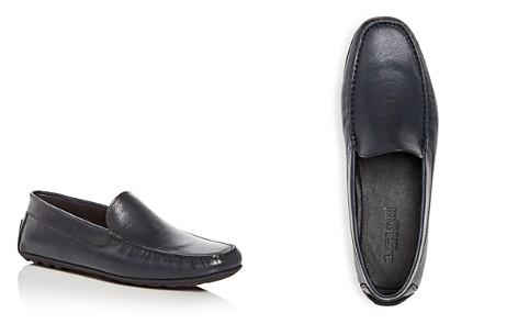 A.Testoni Men's Leather Moc Toe Drivers - Bloomingdale's_2