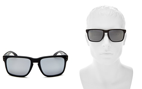 Oakley Holbrook XL Prizm Polarized Mirrored Square Sunglasses, 62mm - Bloomingdale's_2