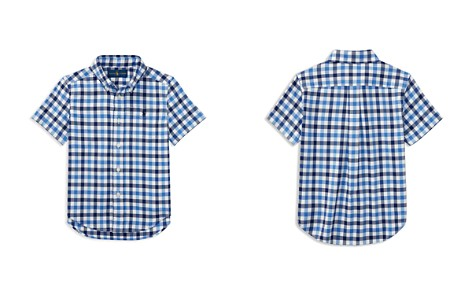 Polo Ralph Lauren Boys' Plaid Performance Oxford Shirt - Little Kid - Bloomingdale's_2