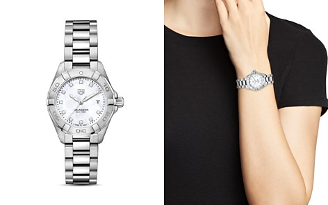 TAG Heuer Aquaracer Diamond Watch, 27mm - Bloomingdale's_2