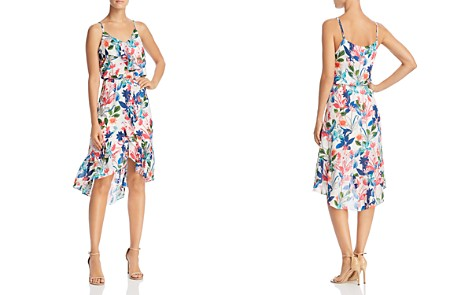 Parker Saylor Floral Silk Dress - 100% Exclusive - Bloomingdale's_2