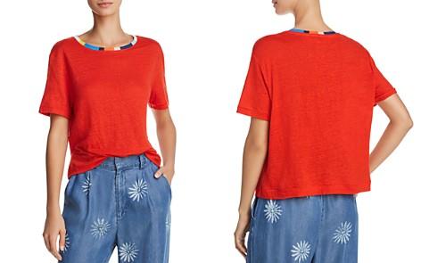 Splendid x Margherita Color-Block Trim Tee - 100% Exclusive - Bloomingdale's_2