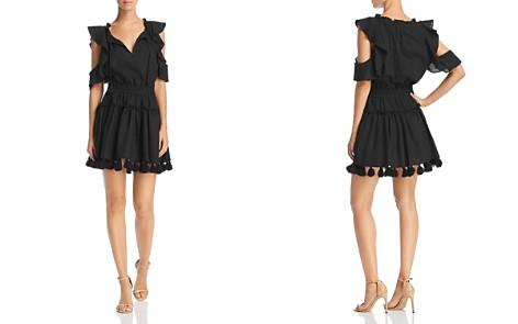MISA Los Angeles Tassel Selma Cold-Shoulder Dress - Bloomingdale's_2