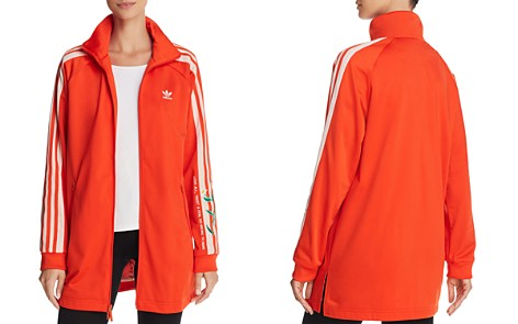 adidas Originals Embroidered Long Track Jacket - Bloomingdale's_2