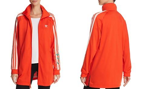 adidas Originals Embroidered Long Track Jacket - Bloomingdale's_2