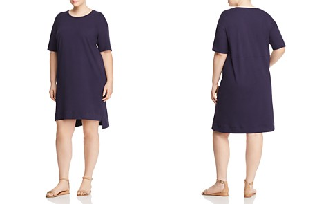 Eileen Fisher Plus High/Low Knit Dress - Bloomingdale's_2
