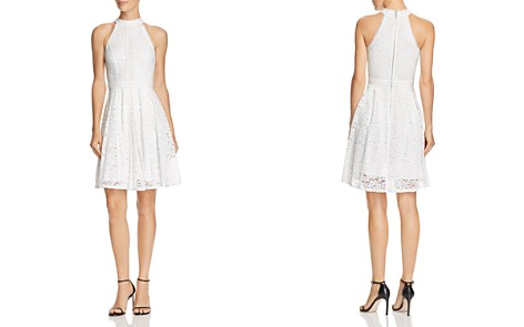 AQUA Lace Fit-and-Flare Dress - 100% Exclusive - Bloomingdale's_2