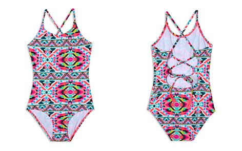 Gossip Girl Girls' Surfside Solstice Swimsuit - Big Kid - Bloomingdale's_2