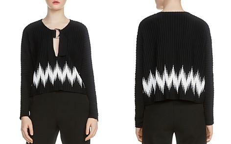 Maje Martha Zig Zag Sweater - Bloomingdale's_2