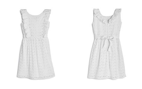 US Angels Girls' Ruffled Eyelet Dress - Little Kid - Bloomingdale's_2