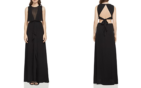 BCBGMAXAZRIA Fiona Open-Back Gown - Bloomingdale's_2