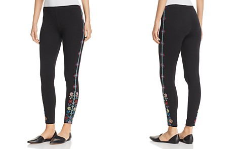 Johnny Was Clover Embroidered Leggings - Bloomingdale's_2