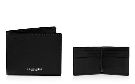 Michael Kors Harrison Cross Grain Leather Slim Wallet - Bloomingdale's_2