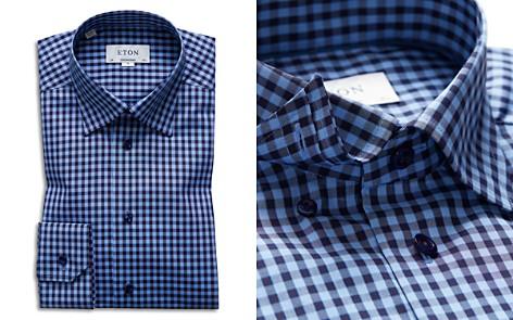 Eton Check Regular Fit Dress Shirt - Bloomingdale's_2