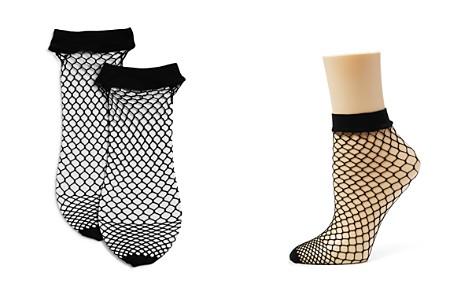 DKNY Fishnet Ankle Socks, Set of 2 - Bloomingdale's_2