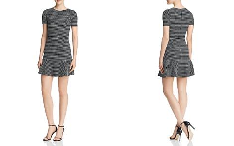 AQUA Grid Ruffle-Hem Dress - 100% Exclusive - Bloomingdale's_2