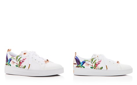Ted Baker Women's Ahfira Floral Print Satin Lace Up Sneakers - Bloomingdale's_2
