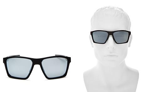 Oakley Targetline Prizm Polarized Mirrored Square Sunglasses, 60mm - Bloomingdale's_2