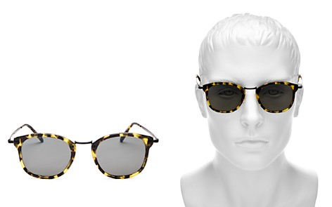 Oliver Peoples Square Sunglasses, 48mm - Bloomingdale's_2