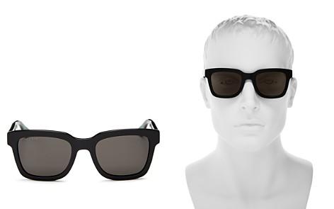 Gucci Polarized Square Sunglasses, 52mm - Bloomingdale's_2