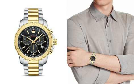 Movado Series 800 Two-Tone Chronograph, 42mm - Bloomingdale's_2