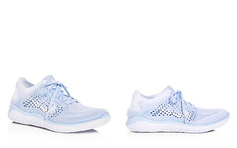 Nike Women's Free RN Flyknit 2018 Lace Up Sneakers - Bloomingdale's_2