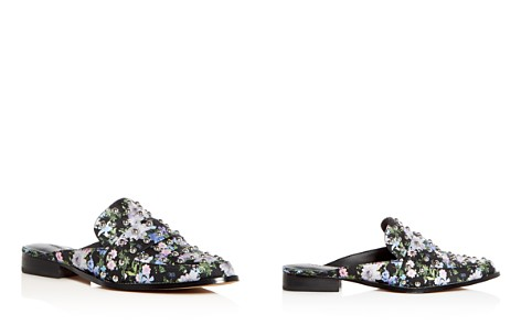 Rebecca Minkoff Women's Milena Floral Print Studded Mules - Bloomingdale's_2