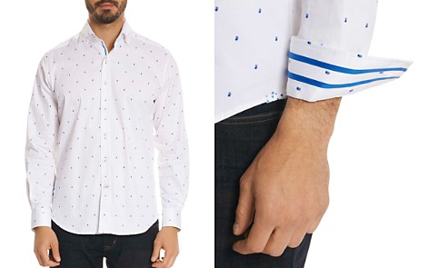 Robert Graham Mack Paisley Classic Fit Button-Down Shirt - Bloomingdale's_2