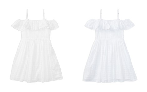 Polo Ralph Lauren Girls' Ruffled Off-the-Shoulder Gauze Dress - Big Kid - Bloomingdale's_2