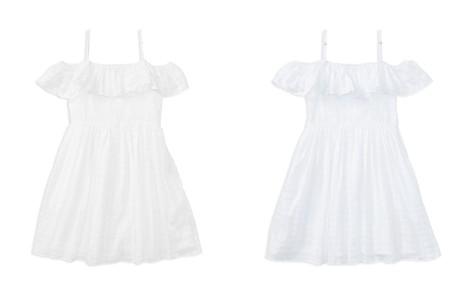 Polo Ralph Lauren Girls' Ruffled Off-the-Shoulder Gauze Dress - Big Kid - Bloomingdale's_2