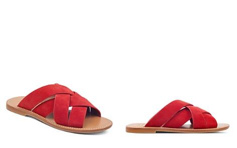 Marc Fisher LTD. Women's Raida Suede Slide Sandals - Bloomingdale's_2