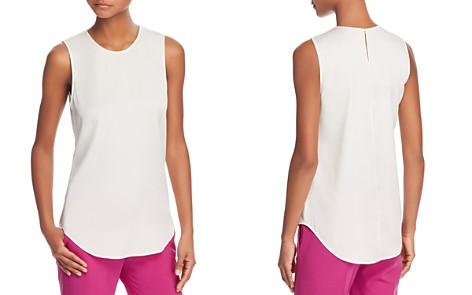 Theory Bringam Stretch-Silk Top - Bloomingdale's_2