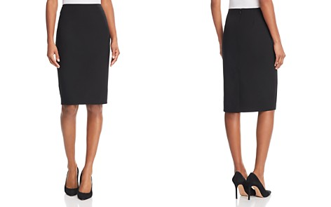 Theory Stretch-Wool Pencil Skirt - Bloomingdale's_2