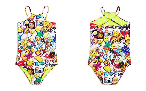Terez Girls' Emoji-Print Swimsuit - Little Kid, Big Kid - Bloomingdale's_2
