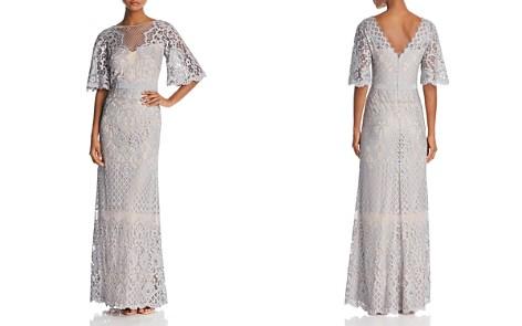 Tadashi Shoji Latticework Lace Gown - Bloomingdale's_2
