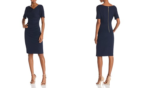 Adrianna Papell Piqué-Knit Dress - Bloomingdale's_2
