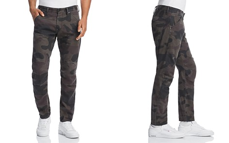 G-STAR RAW 5620 3D Slim Fit Jeans in Asfalt Camo - Bloomingdale's_2