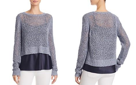 T Tahari Halsey Layered Combo Sweater - Bloomingdale's_2
