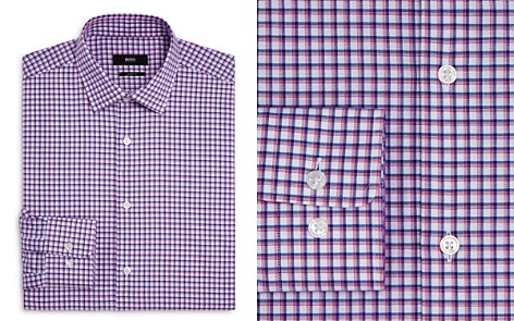 BOSS Double Check Regular Fit Dress Shirt - Bloomingdale's_2
