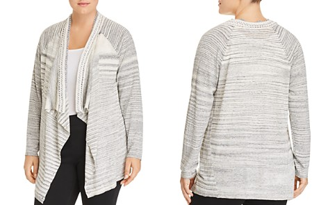 NIC+ZOE Plus Time Change Open-Front Cardigan - Bloomingdale's_2