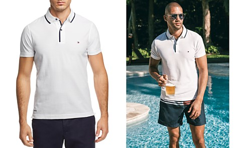 Tommy Hilfiger Stretch Slim Fit Polo Shirt - Bloomingdale's_2