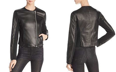 rag & bone/JEAN Harrison Leather-Panel Moto Jacket - Bloomingdale's_2