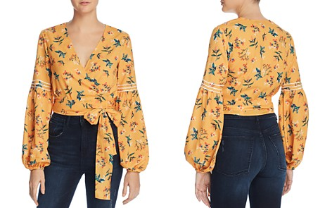 The Fifth Label Skyward Floral-Print Wrap Top - Bloomingdale's_2