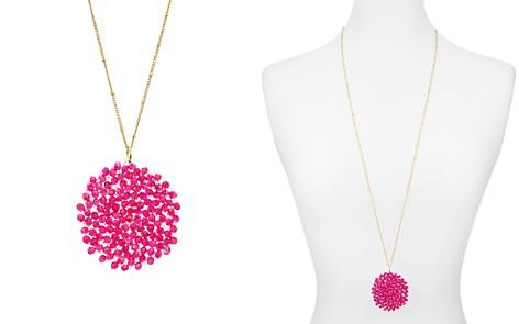 "AQUA Cluster Pendant Necklace, 35"" - 100% Exclusive - Bloomingdale's_2"