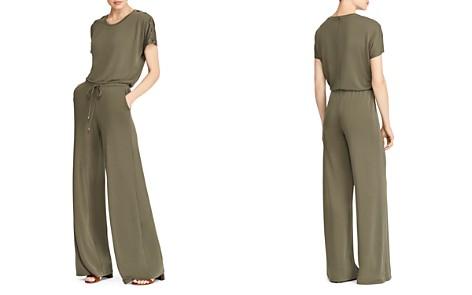 Lauren Ralph Lauren Lace-Up Wide-Leg Jumpsuit - Bloomingdale's_2